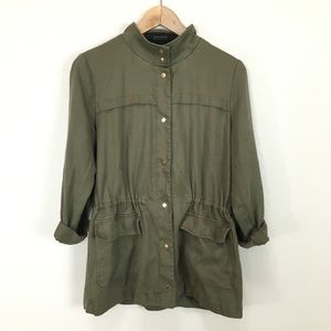 Zara Collection Utility Safari Army Green Jacket